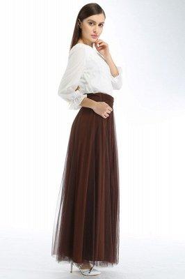 Bena | A-line Tulle Skirt_24