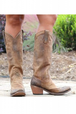 Stylish Knee High Women's Boots_2