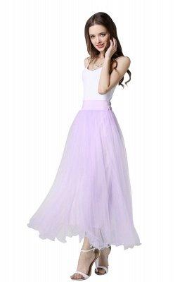 Bunny | White A-line Tulle Skirt_31
