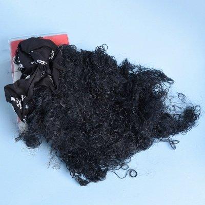 Long Wavy Caribbean Buccaneer Costume Wig Standard_3
