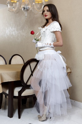 White High Low Petticoat_5