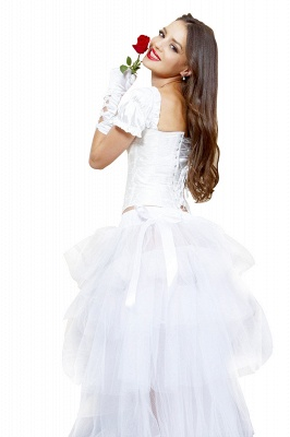 White High Low Petticoat_7