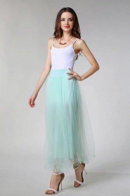 Bunny | White A-line Tulle Skirt_15
