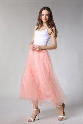 Bunny | White A-line Tulle Skirt_20