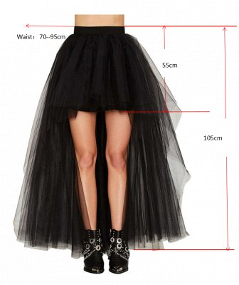 Blossom | Black Tassel High Low Petticoat_9