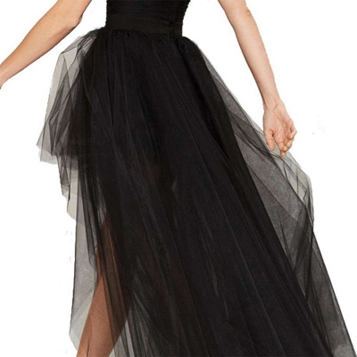 Blossom | Black Tassel High Low Petticoat_6