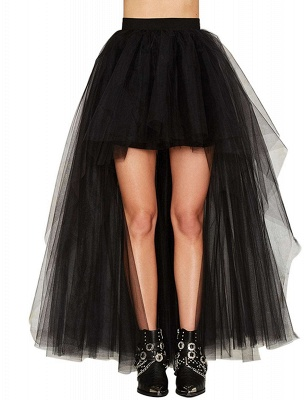 Blossom | Black Tassel High Low Petticoat_4