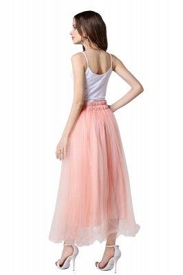 Bunny | White A-line Tulle Skirt_17
