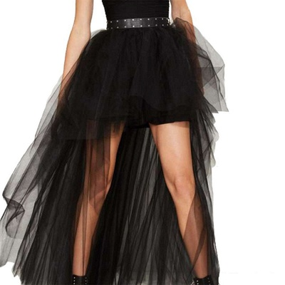 Blossom | Black Tassel High Low Petticoat_7