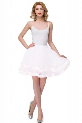 New Bertha | White Cheap Puffy Prtticoat