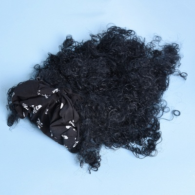 Long Wavy Caribbean Buccaneer Costume Wig Standard_6