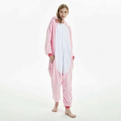 Cute Adult Pink Unicorn Onesies Sleepwear for Girls_12