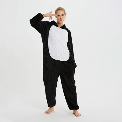 Cute Pyjamas for Women Huskie Onesies, Dark_9
