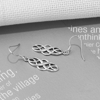 Chic Alloy Plated Ladies' Earrings Jewelry_6