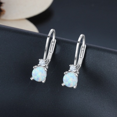 Fashionable Alloy Plated Earrings Jewelry_5