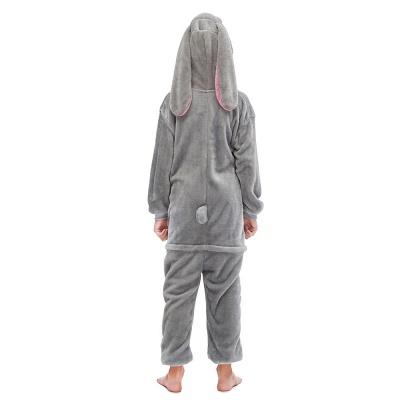 Lovely Animal Sleepwear for Boys MashiMaro Onesie, Grey_3