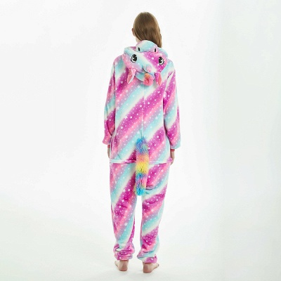 Downy Adult Coloful Onesies Pajamas for Women_6