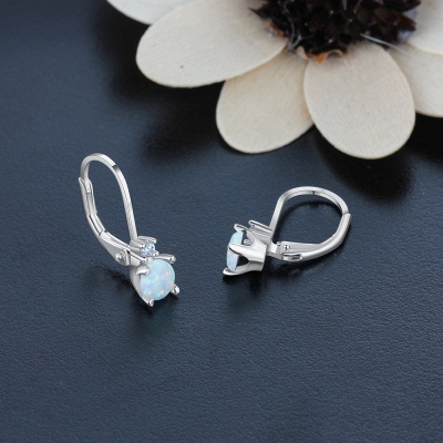 Fashionable Alloy Plated Earrings Jewelry_4