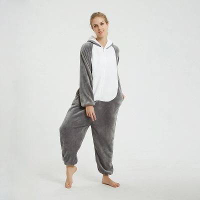 Adorable Adult Pyjamas for Women MashiMaro Onesie, Grey_6