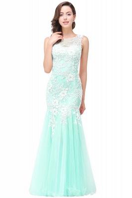 Long Lace Mermaid Sleeveless Maxi Prom Dress_7
