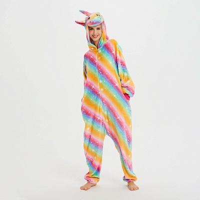 Cute Pyjamas for Women Unicorn Onesies, Rainbow_15