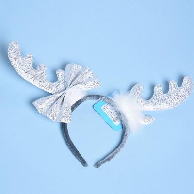 Christmas Decoration White Wapiti Deer Headhand_1