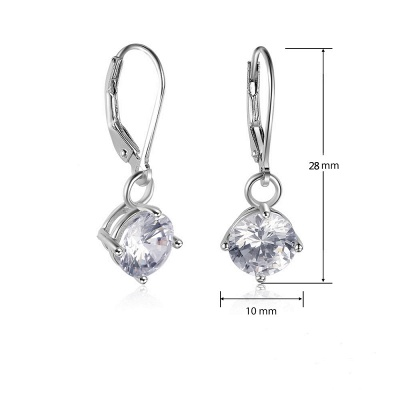 Stylish Alloy Plated Earrings Jewelry_3