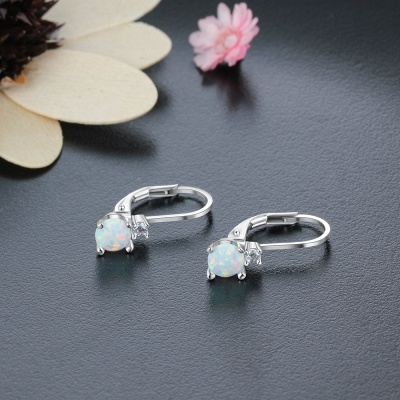 Fashionable Alloy Plated Earrings Jewelry_6