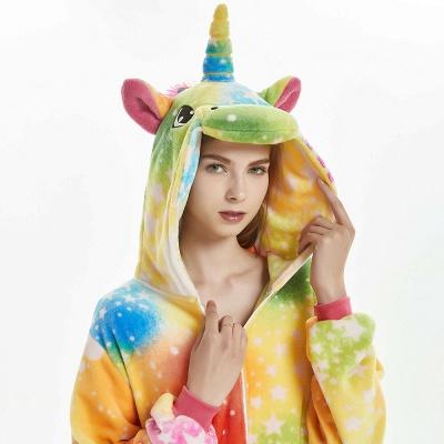Downy Adult Onesies Pajamas for Girls_18