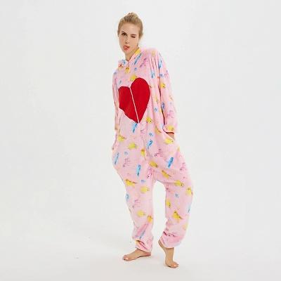 Cute Pyjamas for Women Unicorn Onesies, Pink_8