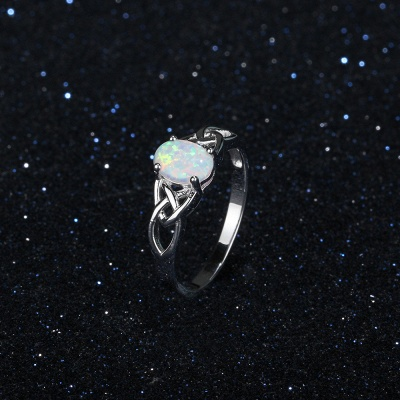 Chic Sterling Silver Ring Jewelry_8