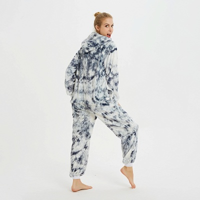 Cute Hoodie Onesies Pyjamas for Women_8