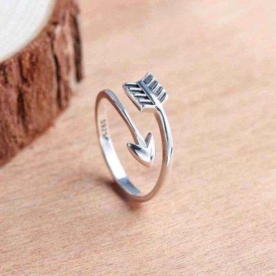 Sterling Silver Ring Jewelry For Ladies_4