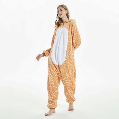 Cute Adult Deer Onesies Pajamas for Women_10