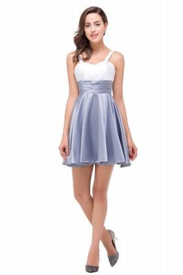 A-line Sleeveless Sweetheart Short Chiffon Prom Dresses_1