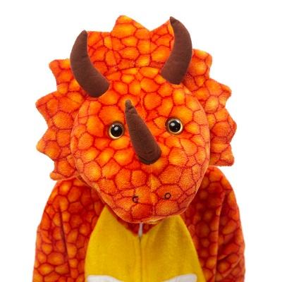 Lovely Animal Sleepwear Unicorn Onesies, Orange_6