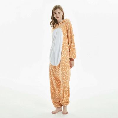 Cute Adult Deer Onesies Pajamas for Women_7