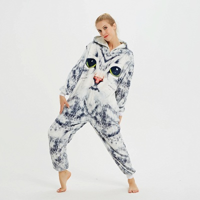 Cute Hoodie Onesies Pyjamas for Women_14