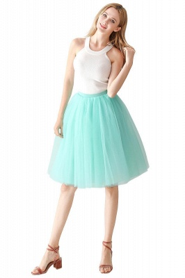 Jewel Sleevelss Knee Length A-line Cute Short Party Dresses_29