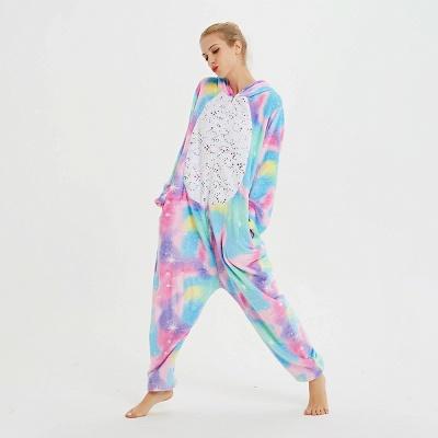 Cute Animal Pyjamas for Women Rainbow Hoodie Onesies_12