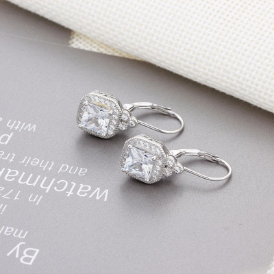 Chic Alloy Plated Earrings Jewelry for Ladies_7