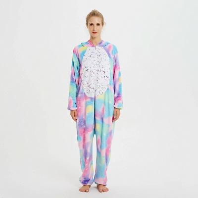 Cute Animal Pyjamas for Women Rainbow Hoodie Onesies_1