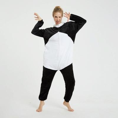 Cute Hoodie Pyjamas for Women Panda Onesies_9