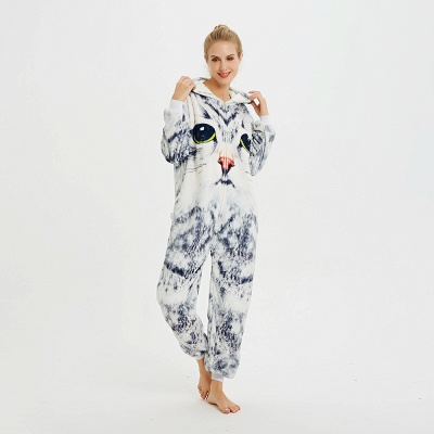 Cute Hoodie Onesies Pyjamas for Women_10