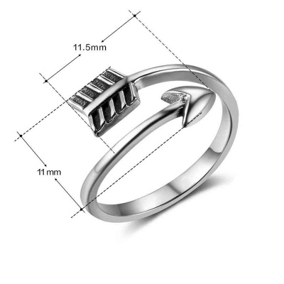 Sterling Silver Ring Jewelry For Ladies_5