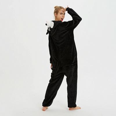 Cute Pyjamas for Women Huskie Onesies, Dark_10