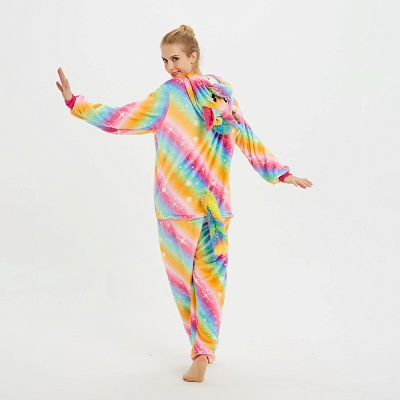 Cute Pyjamas for Women Unicorn Onesies, Rainbow_7
