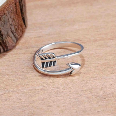 Sterling Silver Ring Jewelry For Ladies_3
