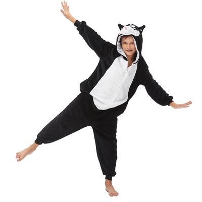 Lovely Pajamas Sleepwear Huskie Onesie, Dark_5