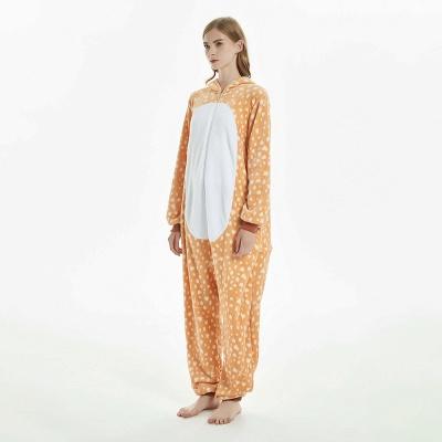 Cute Adult Deer Onesies Pajamas for Women_5